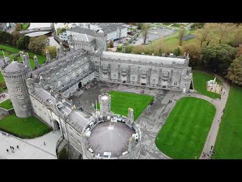 Kilkenny Castle & Design Workshops by drone.