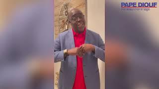 """Hommage à Pape Diouf - Thierno Seydi : """"Il m'a donné la main"""""""