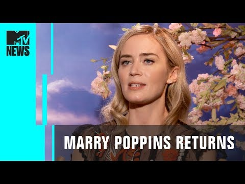 'Mary Poppins Returns' Cast Reveal Their First Disney Memories & More! | MTV News