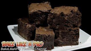 Triple Dark Chocolate Mocha Brownies Recipe