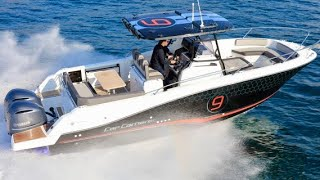 £120,000 Yacht Tour : Jeanneau Cap Camarat 9 0CC