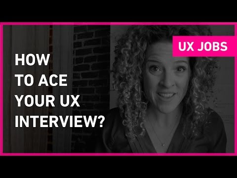 How to prepare for a UX job interview   Sarah Doody, User Experience Designer
