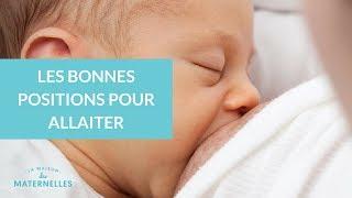 Les bonnes positions pour allaiter - La Maison des Maternelles #LMDM