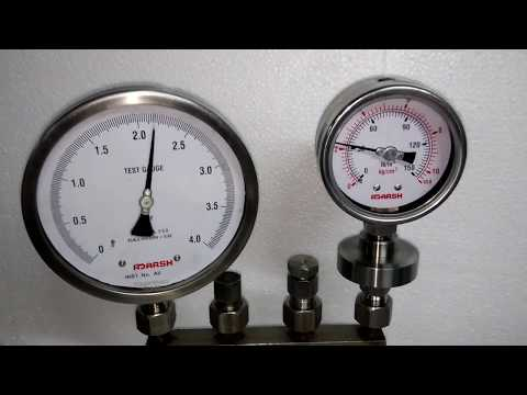 Anti Pulsation Pressure Gauge