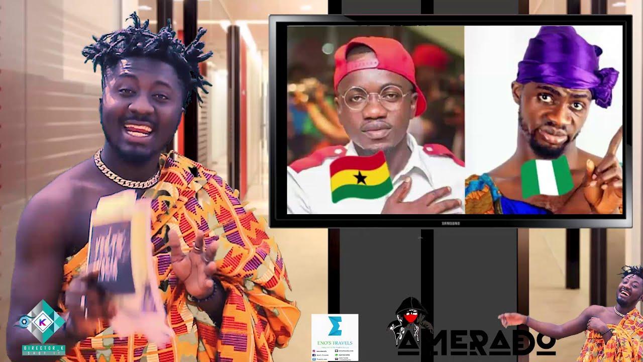 Amerado - Yeete Nsem ft. Kwabena Kwabena, Prof Jane Naana Opoku Agyemang, AY Poyoo, Gyan   Episode 8