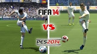 FIFA 14 vs. PES 14: Long Shots, Finesse Shots, Lobs