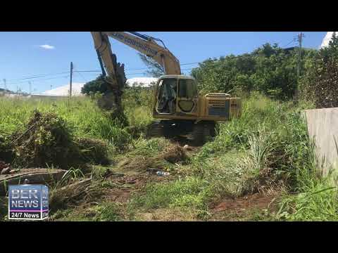 Land Being Cleared For Community Garden On Friswell's Hill, July 23 2020