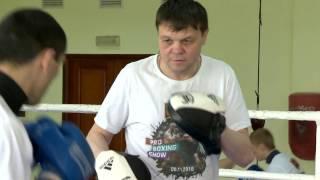 Тренировка украинских боксеров UBP накануне вечера бокса 22 апреля 2017 г. Киев, Конча-Заспа, 17/04