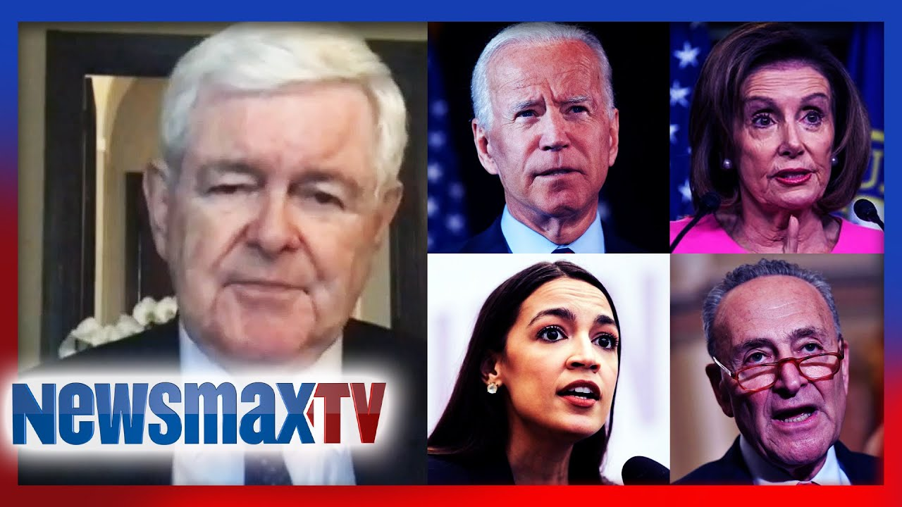 Gingrich: Biden and the left an enormous threat