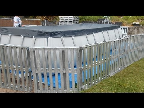 Bestway Pool fence & Changing room under $150