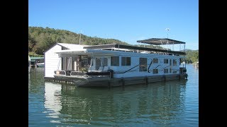 2006 Lakeview 16 x 68WB Houseboat and Dock For Sale on Norris Lake TN - SOLD!