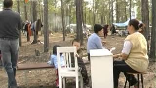 видео Город Ленск под угрозой подтопления
