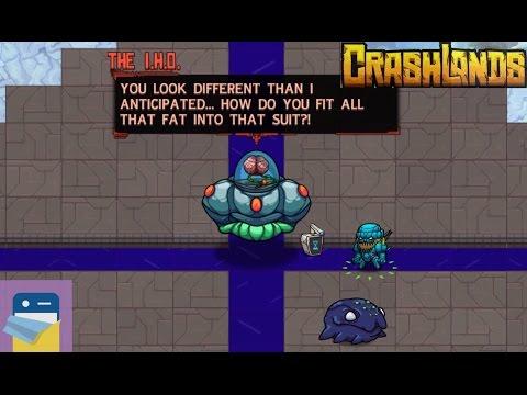 Crashlands: The I.H.O. Boss Battle - Grubby's Quest Walkthrough Guide & iOS iPad Air 2 Gameplay