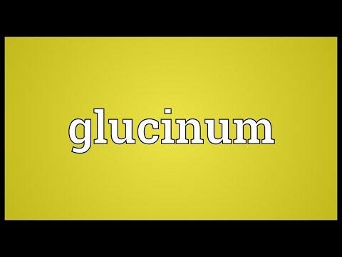 Header of glucinum