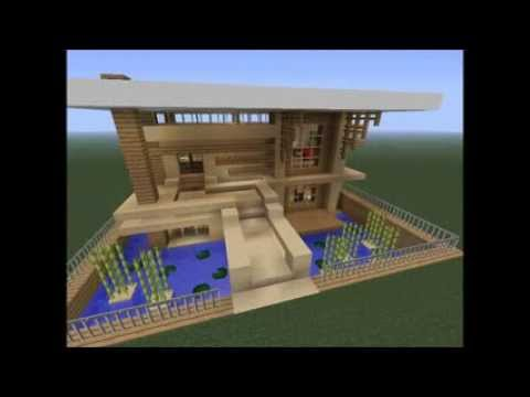How to make a cool minecraft house - YouTube