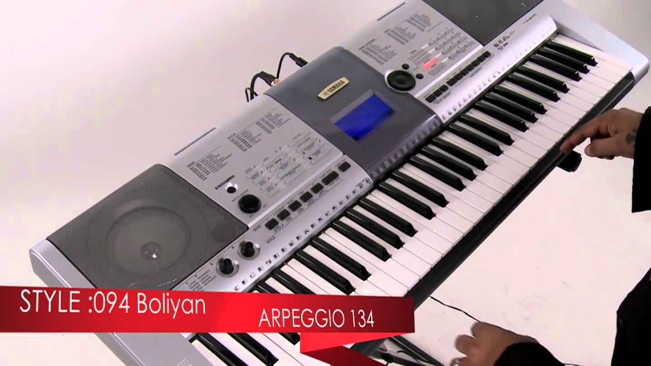 YAMAHA PSR-I425 (Indian Model) - Demonstration - YouTube