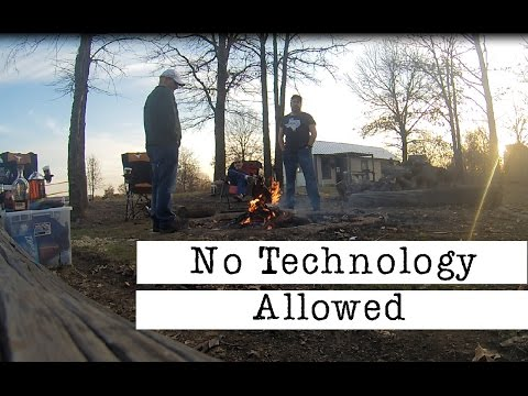 Exploring Camping:  No tech allowed! Will they survive an entire weekend?