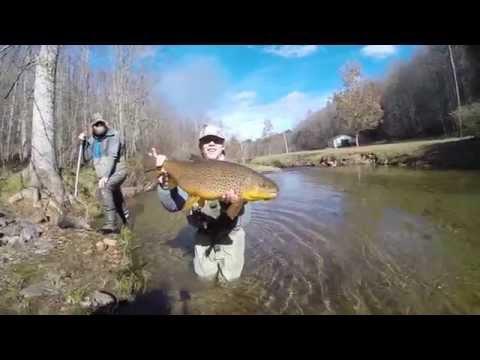 """Hog Johnson"" - Fly Fishing the Upper Toccoa"