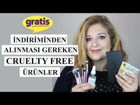 Gratis İndiriminden Alınması Gereken Ürünler | Cruelty Free
