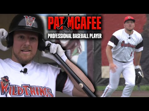 Pat McAfee: Professional Baseball Player