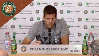 Juan Martin del Potro - Press Conference after Round 1 2017 | Roland-Garros