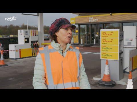 Charlotte gaat voor energiezuinige tankstations | Powervragen