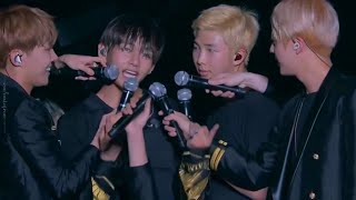 BTS Boyz With Fun / Converse High / Never Mind / Attack On Bangtan (LIVE)