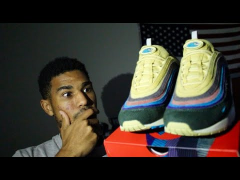 NIKE AIR MAX 97/1 SEAN WOTHERSPOON UNBOXING