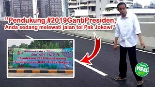 Download Video Ramai Spanduk Tol Jokowi, Begini Tanggapan Kocak Warganet - Mudik Lebaran 2018 MP3 3GP MP4