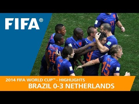 BRAZIL v NETHERLANDS (0:3) - 2014 FIFA World Cup™