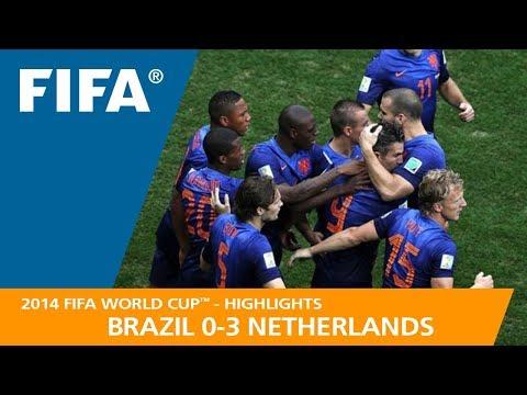 BRAZIL V NETHERLANDS (0:3) - 2014 FIFA World Cup™
