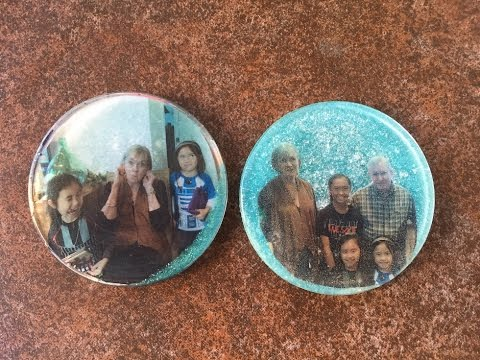 DIY Casting Resin Coasters