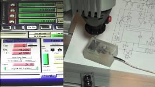 Емкостной датчик высоты инструмента для ЧПУ(Принцип работы емкостной, реагирует на любые массивные токопроводящие предметы. Не требует наличия контак..., 2014-12-14T16:02:18.000Z)