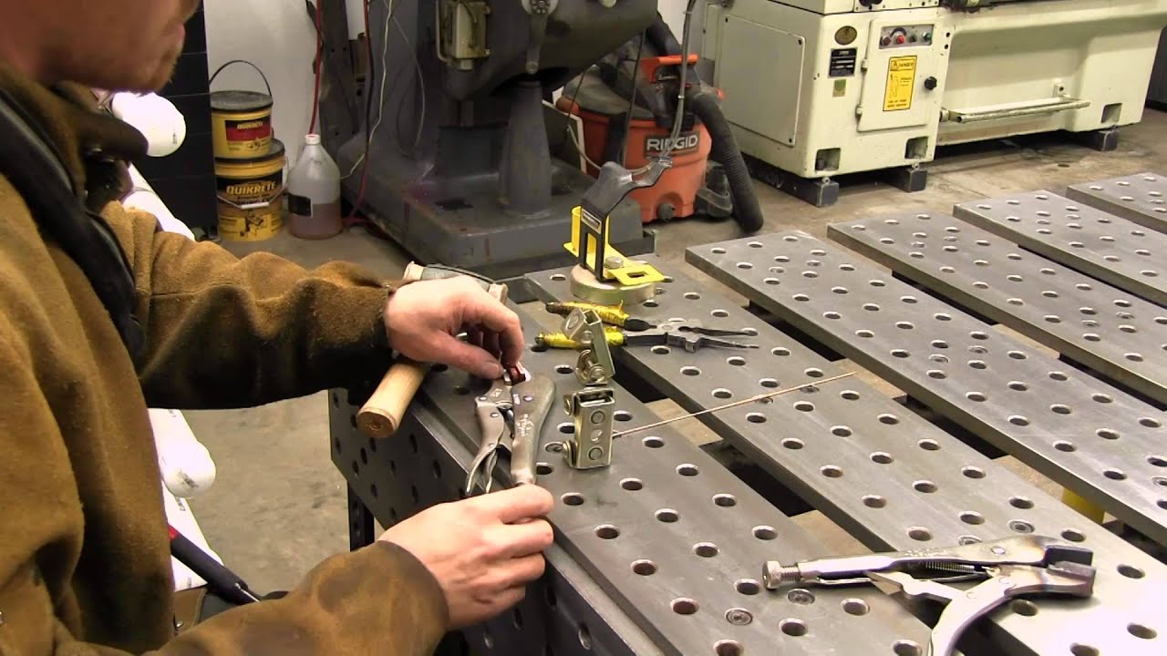 Soft Jaws For Bench Vise Part - 24: Making Soft Jaws For Vise Grips (HD) - YouTube
