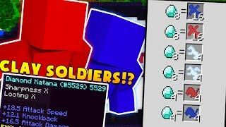 Minecraft CLAY SOLDIERS MODDED BATTLEDOME CHALLENGE w/ BajanCanadian - Minecraft Mod
