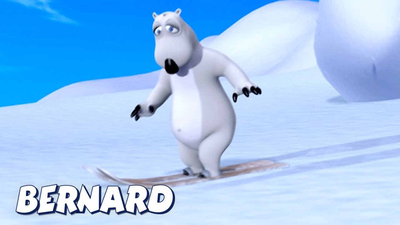 Bernard Bear | Free Skiing AND MORE | Cartoons for Children