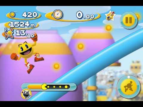 PAC-MAN Dash Ice Pac-man Ios Iphone Gameplay