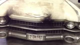 1959 Cadillac convertible barnfind