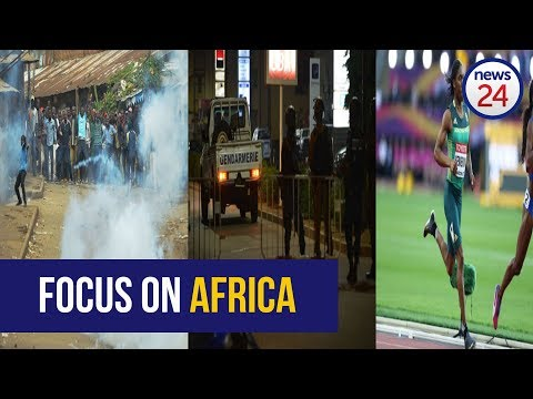 Focus on Africa: 'Terror attack', gold medal for Semenya and Kenya post-election protest