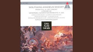 Mozart : Litaniae de venerabili altaris sacramento K243 : VIII Pignus