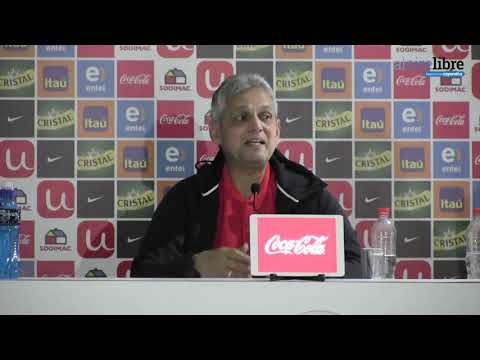 Reinaldo Rueda increpó a la prensa: Sin ustedes va a ser difícil que logremos algo