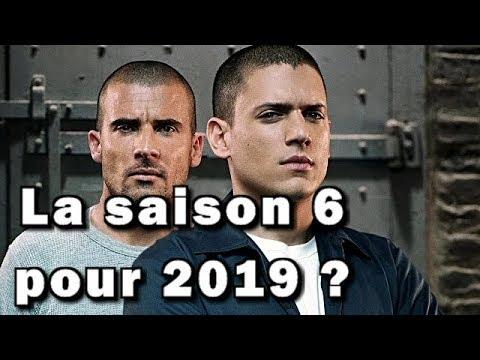 Prison break = La saison 6 confirmé par la FOX ?!
