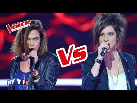 Adele – Rolling in the Deep | Lyn VS Angy | The Voice France 2016 | Battle