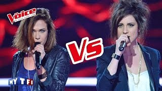 Adele Rolling In The Deep Lyn VS Angy The Voice France 2016 Battle - mp3 مزماركو تحميل اغانى