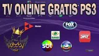 TUTORIAL TV ONLINE 100% GRATIS PS3 (DESTRAVADO)