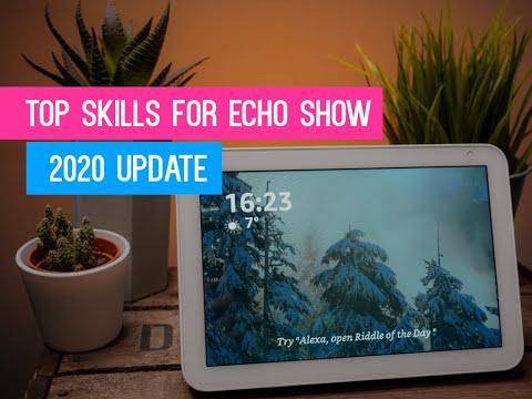 Best Alexa Skills For Your Amazon Echo Device With A Screen | Echo Show, Echo Show 5 & Echo Show 8
