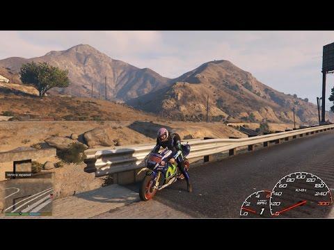 Đi Phượt Trên Siêu MôTô Yamaha M1 | Phiên Bản Moto GP 260Km/H | quá nguy hiểm -ThanhTrungGM