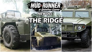 Spintires Mudrunner The Ridge DLC New Vehicles New Gameplay New Map Xbox PS4 PC