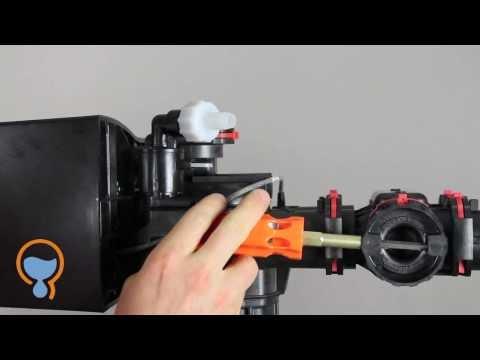plumbing hookup for water softener