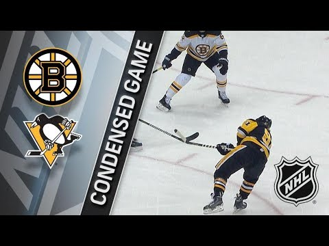 Boston Bruins vs Pittsburgh Penguins – Jan. 07, 2018 | Game Highlights | NHL 2017/18. Обзор матча